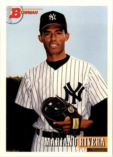 Photo of 1993 Bowman #327 Mariano Rivera