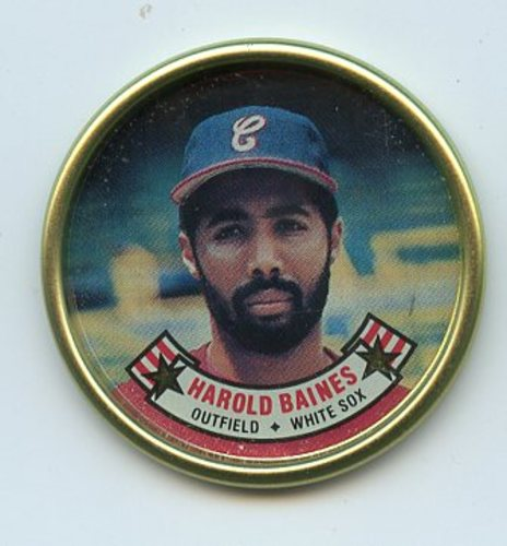 Photo of 1988 Topps Coins #5 Harold Baines