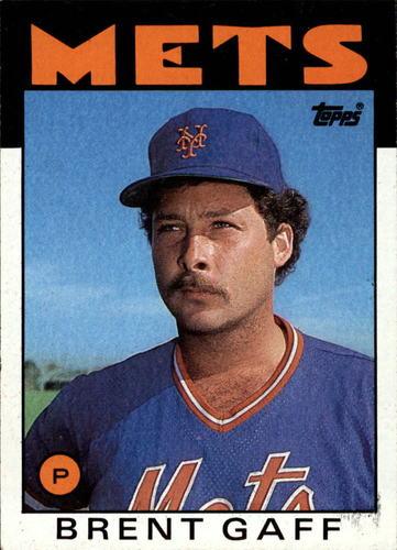 Photo of 1986 Topps #18 Brent Gaff