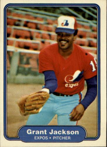 Photo of 1982 Fleer #191 Grant Jackson