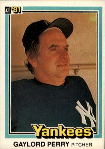 Photo of 1981 Donruss #471 Gaylord Perry