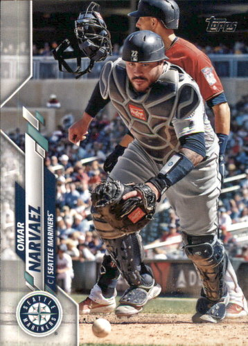 Photo of 2020 Topps #318 Omar Narvaez