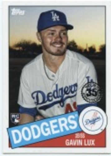 Photo of 2020 Topps '85 Topps #8592 Gavin Lux