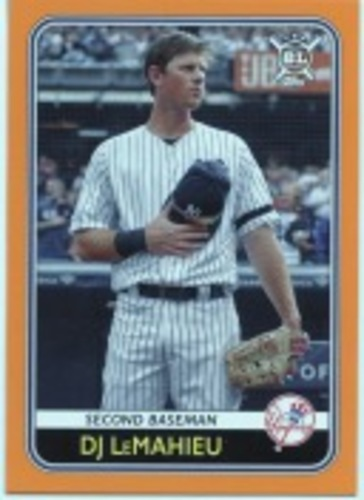 Photo of 2020 Topps Big League Orange #10 DJ LeMahieu