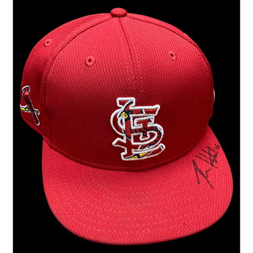 Ryan Helsley Autographed Team Issued Spring Training Cap (Size 7 3/8)