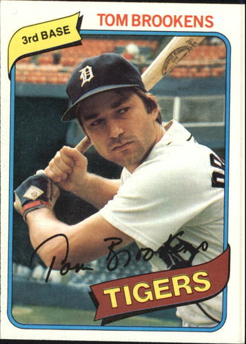 Photo of 1980 Topps #416 Tom Brookens RC