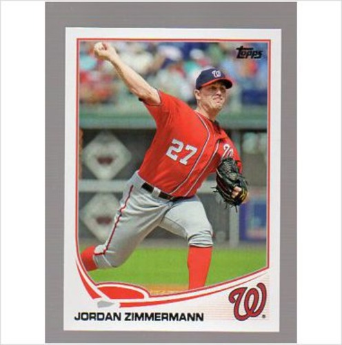 Photo of 2013 Topps #588 Jordan Zimmermann