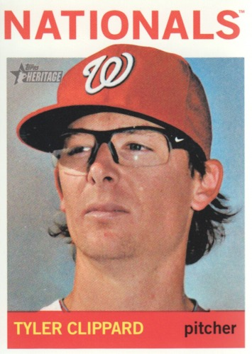 Photo of 2013 Topps Heritage #187 Tyler Clippard