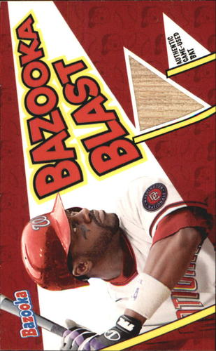 Photo of 2006 Bazooka Blasts Bat Relics #PW Preston Wilson C