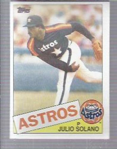 Photo of 1985 Topps #353 Julio Solano