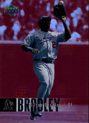 Photo of 2006 Upper Deck Special F/X Red #249 Milton Bradley /50
