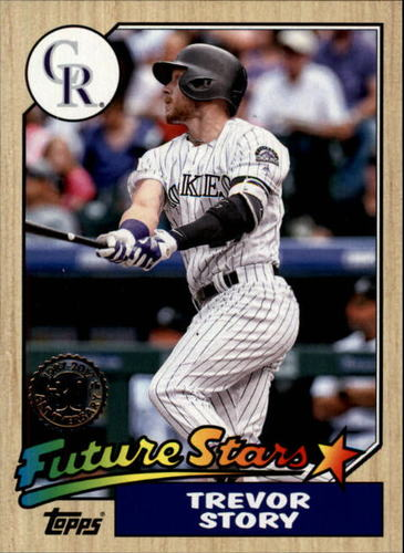 Photo of 2017 Topps '87 Topps #8751 Trevor Story
