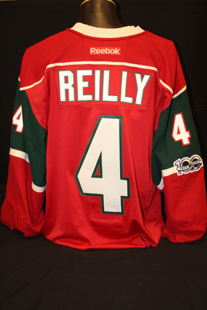 Authentic #4 Mike Reilly Jersey