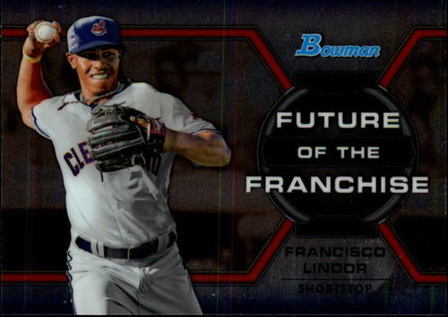 Photo of 2013 Bowman Draft Future of the Franchise #FL Francisco Lindor