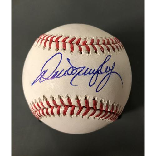 Photo of Dale Murphy Autographed Baseball