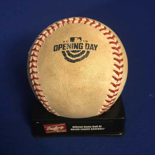 Photo of UMPS CARE AUCTION: Oakland Athletics Game-Ready Opening Day Baseball Signed by Umpire Crew - NOT MLB Authenticated