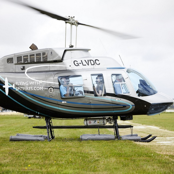 Click to view Helicopter Flight Experience at Goodwood Festival of Speed.