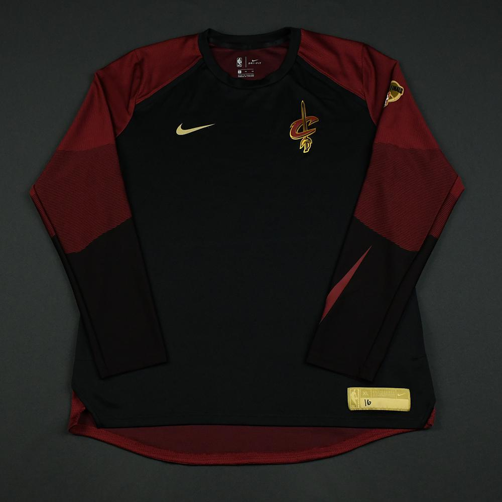 Cedi Osman - Cleveland Cavaliers - 2018 NBA Finals - Game-Issued Shooting Shirt