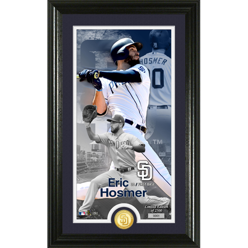 Photo of Serial #1! Eric Hosmer Supreme Bronze Coin Photo Mint