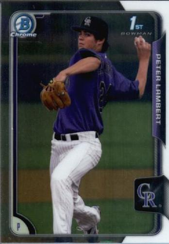 Photo of 2015 Bowman Chrome Draft #121 Peter Lambert