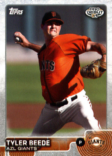 Photo of 2015 Topps Pro Debut #27 Tyler Beede