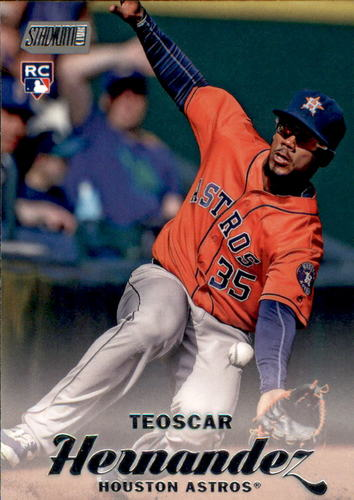 Photo of 2017 Stadium Club #66 Teoscar Hernandez Rookie Card
