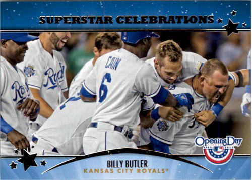 Photo of 2013 Topps Opening Day Superstar Celebrations #SC2 Billy Butler