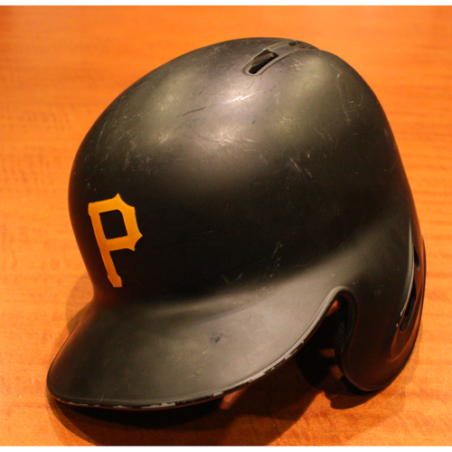 Photo of 2019 Game Used Helmet - Cole Tucker - 1st MLB at Bat - Size 7 3/8