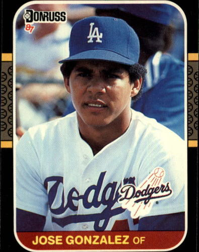 Photo of 1987 Donruss #525 Jose Gonzalez RC