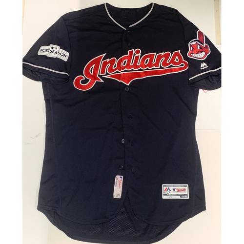Photo of Brandon Guyer Team Issued 2017 Postseason Alternate Road Jersey