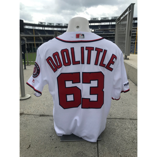 Game-Used Sean Doolittle Jersey