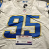 Crucial Catch - Chargers Linval Joseph Game Used Jersey (10/12/20) Size 46