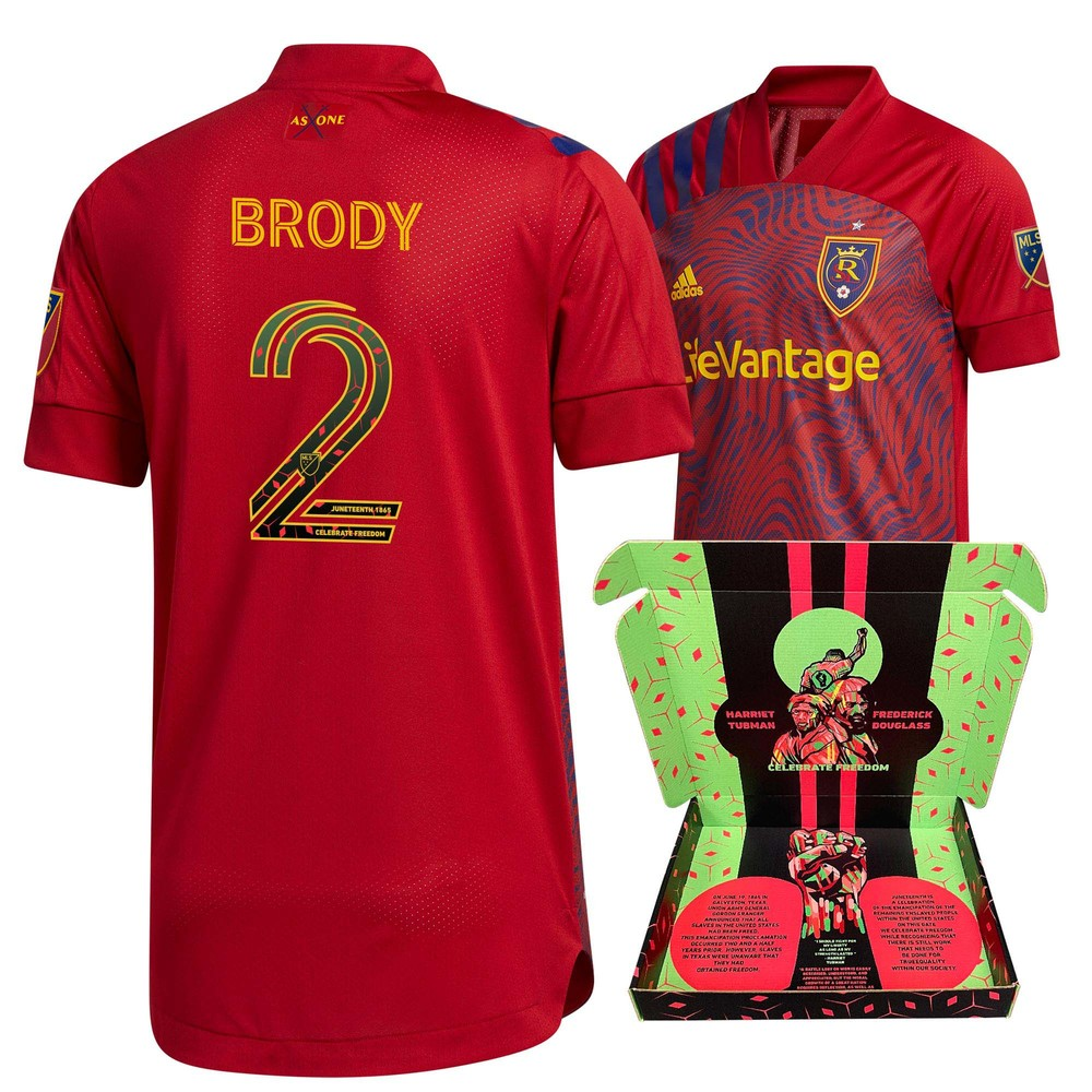 Andrew Brody Real Salt Lake Match-Used & Signed