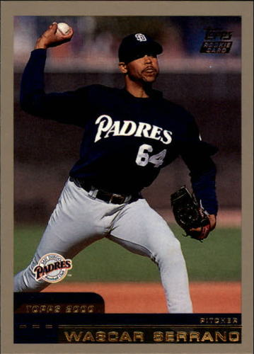 Photo of 2000 Topps Traded #T57 Wascar Serrano RC