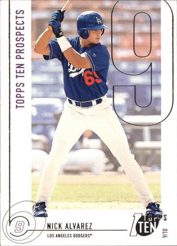 Photo of 2002 Topps Ten #199 Nick Alvarez PROS RC