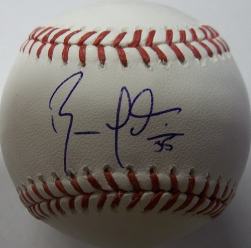 Russell Martin Autographed Baseball
