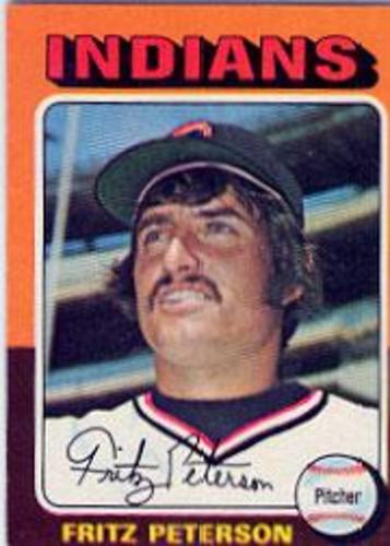 Photo of 1975 Topps #62 Fritz Peterson