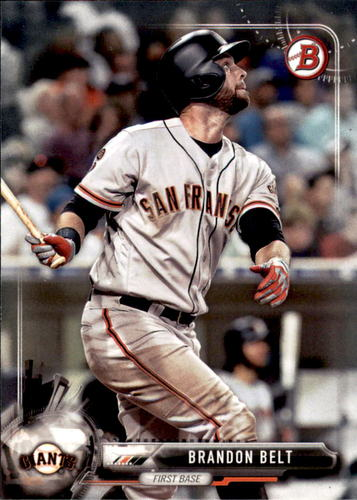 Photo of 2017 Bowman #90 Brandon Belt