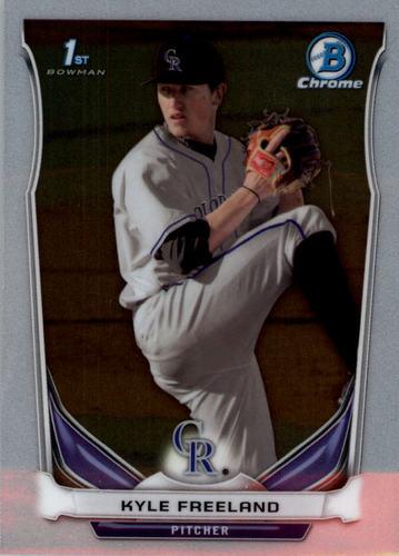 Photo of 2014 Bowman Chrome Draft #CDP5 Kyle Freeland