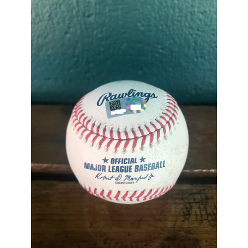 Photo of Cardinals Authentics: Game-Used Baseball Pitched by Brett Cecil to Kris Bryant *Sac Fly 1RBI*