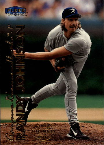 Photo of 1999 Fleer Tradition #36 Randy Johnson -- Hall of Fame Class of 2015