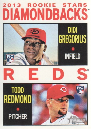 Photo of 2013 Topps Heritage #33 Didi Gregorius RC/Todd Redmond Rookie Card