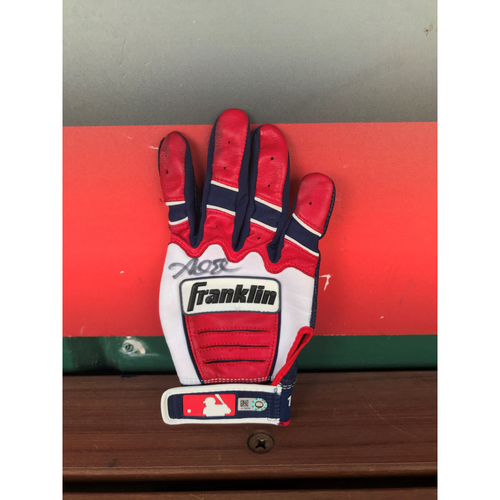 Photo of Autographed Adam Eaton Batting Glove
