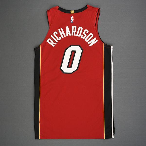Josh Richardson - Miami Heat - Kia NBA Tip-Off 2018 - Game-Worn ...