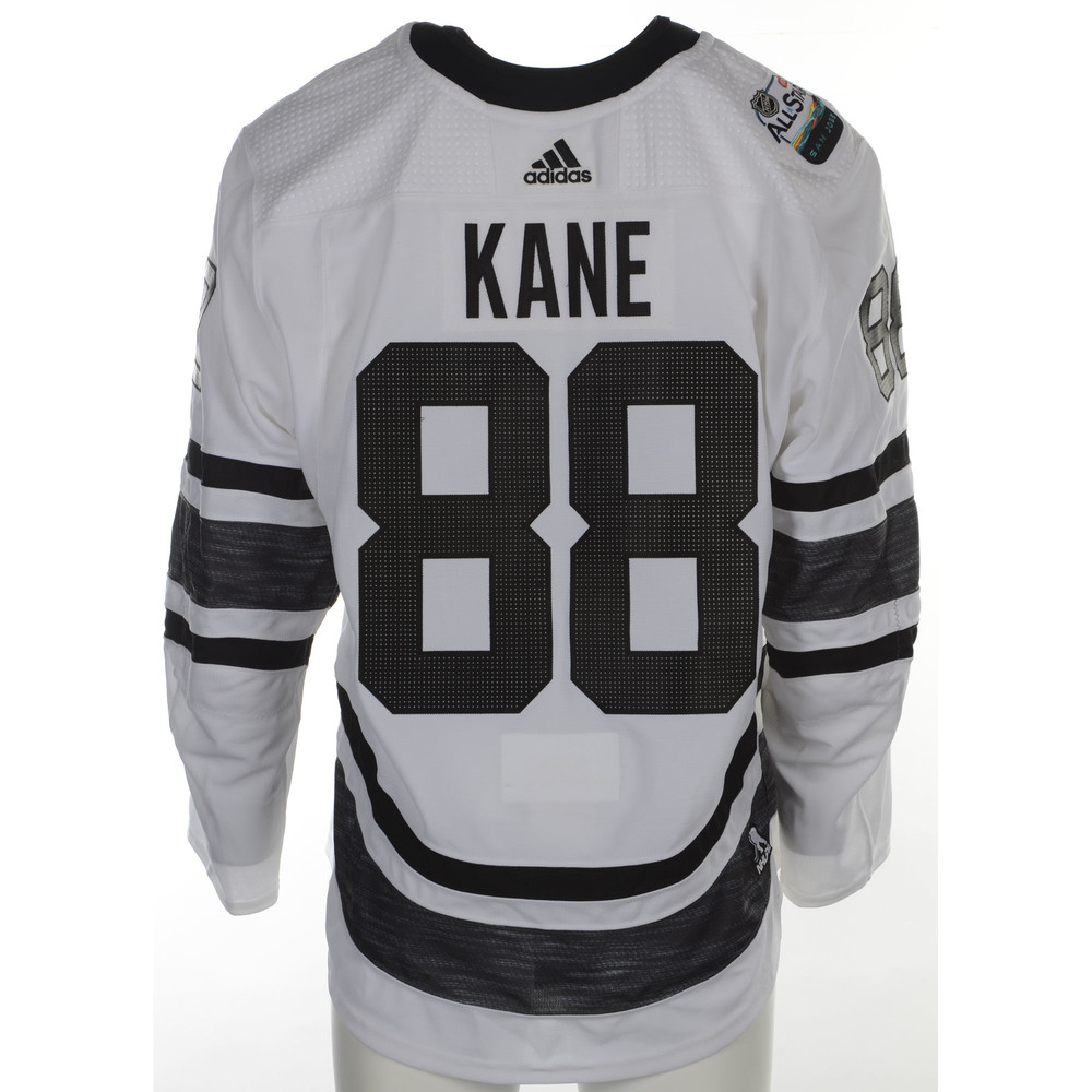 Patrick Kane Chicago Blackhawks Game-Used 2019 All-Star Game Jersey ... aabf49d54