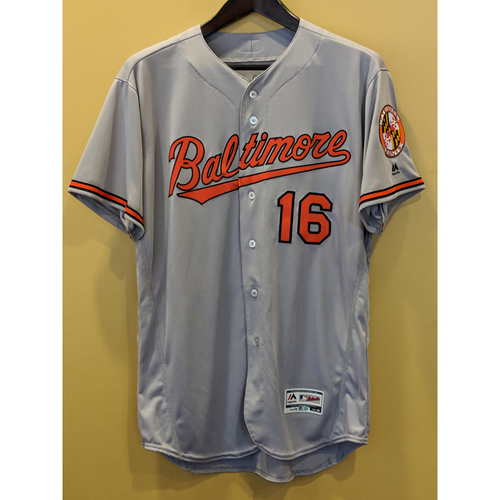 Photo of Trey Mancini - Road Jersey: Team-Issued (48)
