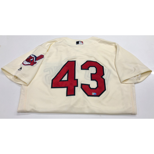 Photo of Josh Tomlin 2016 Alternate Home Jersey