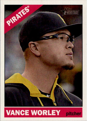 Photo of 2015 Topps Heritage #419 Vance Worley