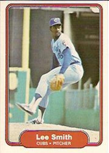 Photo of 1982 Fleer #603B Lee Smith COR