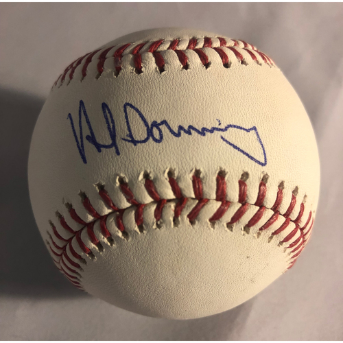 Photo of Al Downing Authentic Autographed Baseball
